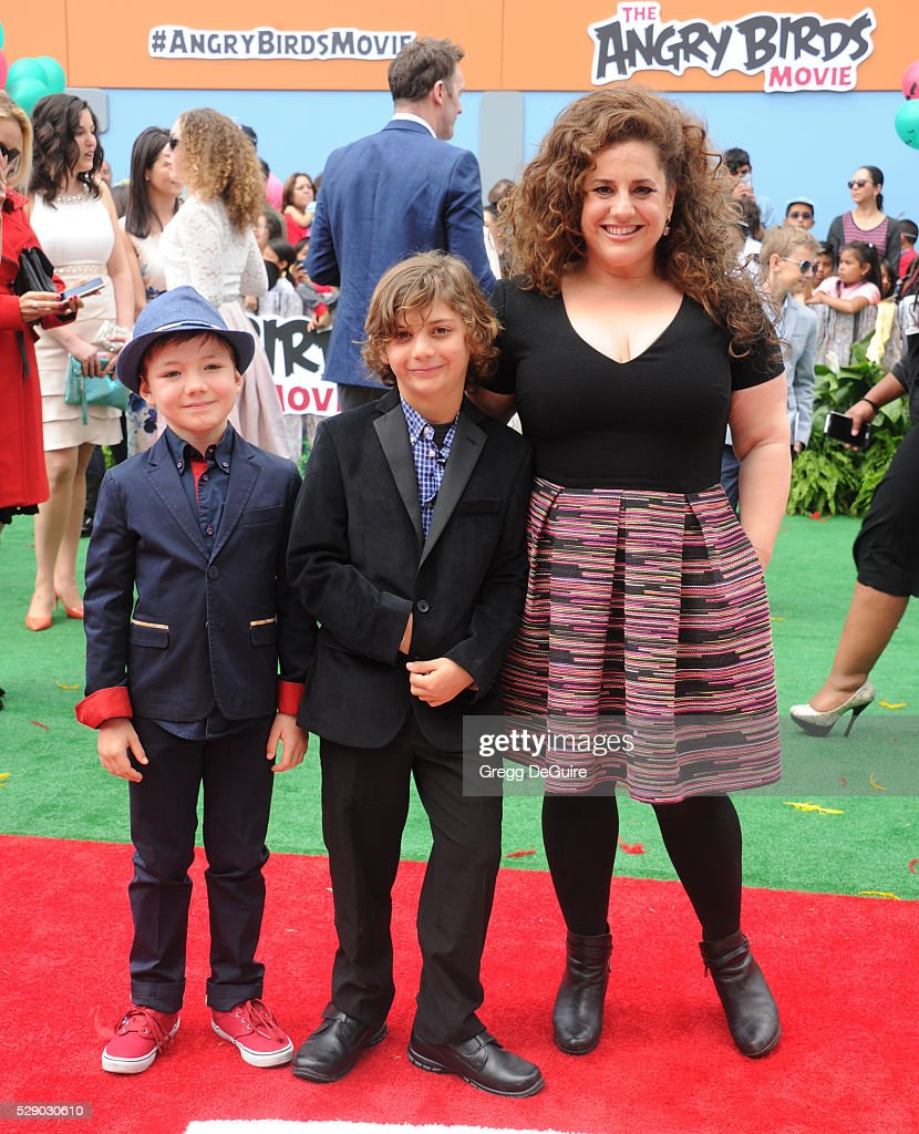 Actress Marissa Jaret Winokur arrives at the premiere of Sony Pictures' 'The Angry Birds Movie' at Regency Village Theatre on May 7, 2016 in Westwood, California.