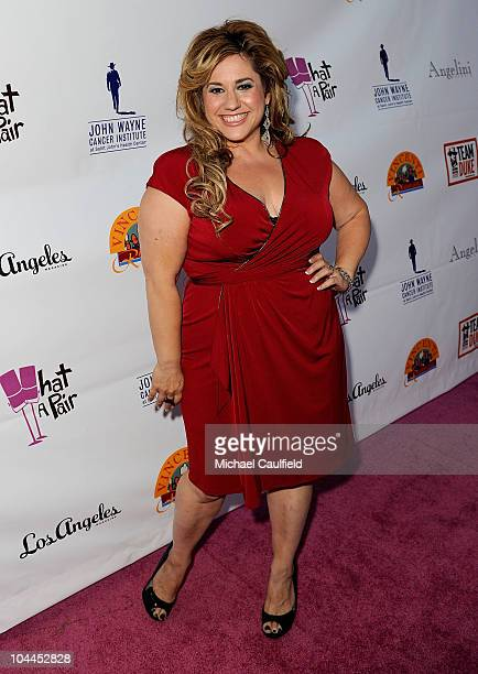 Actress Marissa Jaret Winokur attends the 8th annual What A Pair to benefit the John Wayne Cancer Institute at The Broad Stage on September 25 2010...