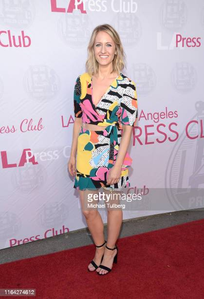 """Actress Marissa Madsen attends a Q&A session at a screening of Tom Donahue's documentary """"This Changes Everything"""" on July 25, 2019 in Los Angeles,..."""
