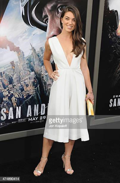 Actress Marissa Neitling arrives at the Premiere Of Warner Bros Pictures' San Andreas at TCL Chinese Theatre on May 26 2015 in Hollywood California