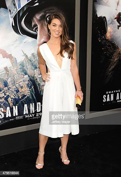 Actress Marissa Neitling arrives at the 'San Andreas' Los Angeles Premiere at TCL Chinese Theatre IMAX on May 26 2015 in Hollywood California
