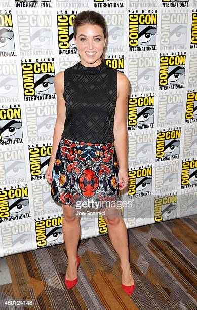 Actress Marissa Neitling attends The Last Ship press room during TNT at ComicCon International San Diego 2015 on July 9 2015 in San Diego California...