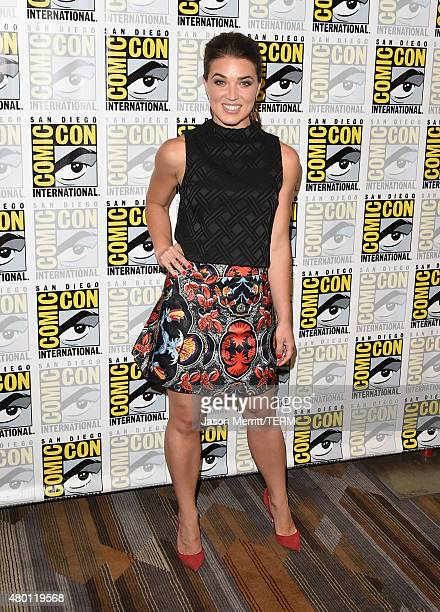 Actress Marissa Neitling attends TNT's The Last Ship Press Room during ComicCon International 2015 at Hilton Bayfront on July 9 2015 in San Diego...