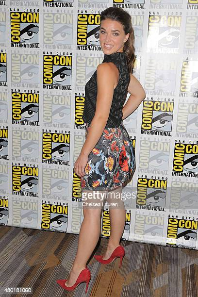 Actress Marissa Neitling attends TNT's 'The Last Ship' Press Room during ComicCon International on July 9 2015 in San Diego California