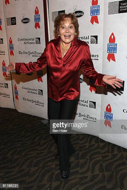Actress Marj Dusay attends the 23rd Annual Broadway Flea Market Grand Auction at Roseland Ballroom on September 27 2009 in New York City