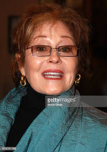 Actress Marj Dusay during opening night for The Revival of The Country Girl on Broadway at The Bernard Jacobs Theater on April 27 2008 in New York...