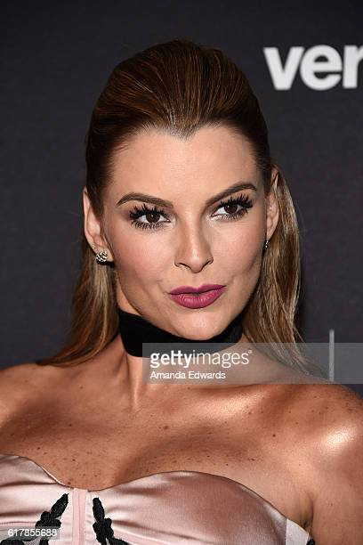 Actress Marjorie de Sousa arrives at The Paley Center for Media's Hollywood Tribute to Hispanic Achievements in Television event at the Beverly...