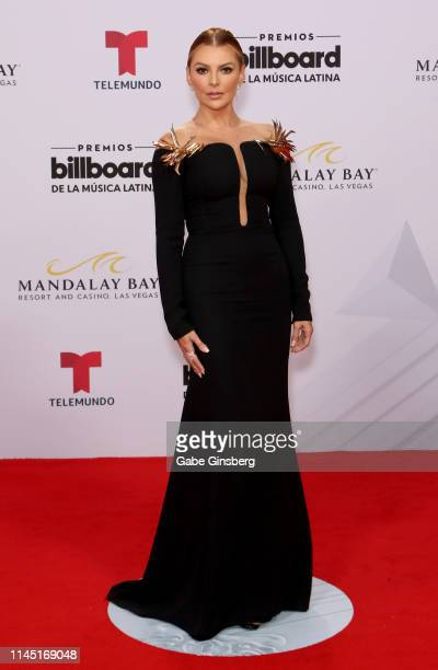 Actress Marjorie de Sousa attends the 2019 Billboard Latin Music Awards at the Mandalay Bay Events Center on April 25 2019 in Las Vegas Nevada