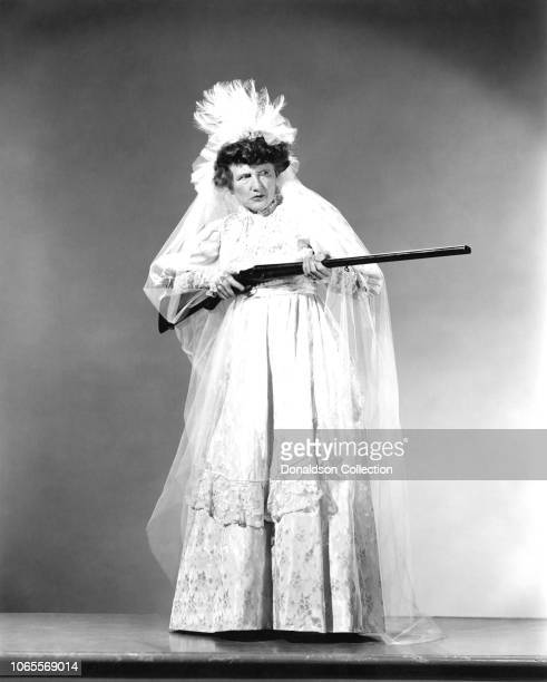Actress Marjorie Main in a scene from the movie The Wistful Widow of Wagon Gap