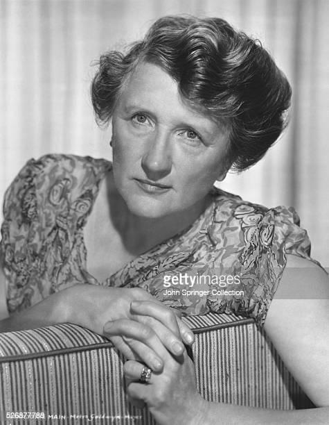 Actress Marjorie Main
