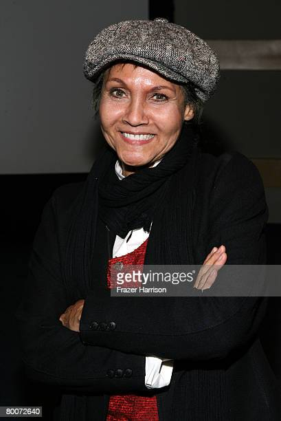 Actress Marki Bey attends the AFI Screening of The Landlord held at the Skirball Cultural Center on February 292008 in Los Angeles California