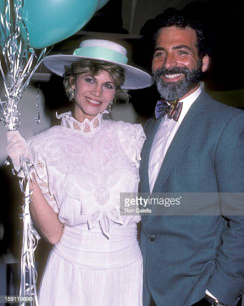 Actress Markie Post and fashion expert Paul Glick attend the Press Party and Launch of the Syndicated TV Magazine Show 'Being Your Best' on February...