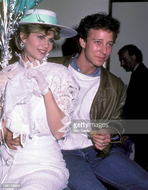 Actress Markie Post and husband writer Michael A Ross attend the Press Party and Launch of the Syndicated TV Magazine Show 'Being Your Best' on...