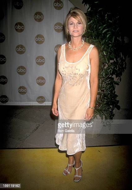 Actress Markie Post attends ABC Summer TCA Press Tour on July 29 1999 at RitzCarlton Hotel in Pasadena California