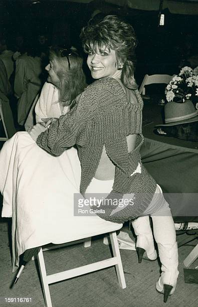 Actress Markie Post attends Second Annual St Patrick's Day Parade on March 16 1986 in Beverly Hills California