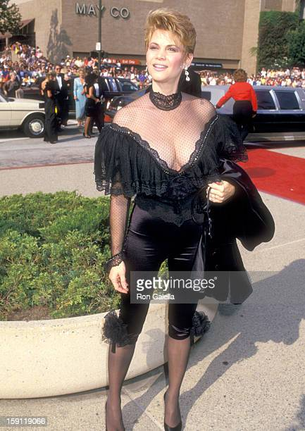 Actress Markie Post attends the 39th Annual Primetime Emmy Awards on September 20 1987 at Pasadena Civic Auditorium in Pasadena California
