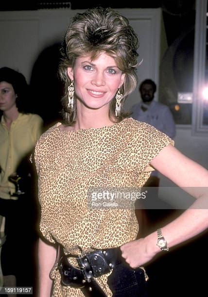 Actress Markie Post attends the Press Party and Launch of the Syndicated TV Magazine Show 'Being Your Best' on February 2 1984 at 20th Century Fox...