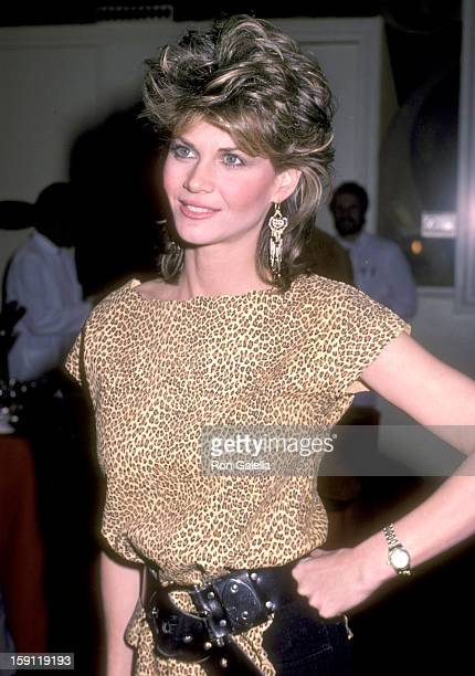 Actress Markie Post attends the Press Party and Launch of the Syndicated TV Magazine Show Being Your Best on February 2 1984 at 20th Century Fox...