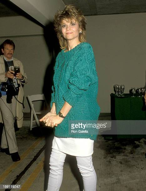 Actress Markie Post attends the Second Annual Beverly Hills St Patrick's Day Parade Celebrity Breakfast on March 16 1986 at Litton Industries in...
