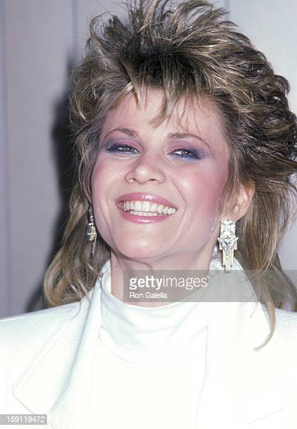 Actress Markie Post attends the 'Welcome Home Vets' Concert Honoring the American Vietnam Veterans on February 24 1986 at The Forum in Los Angeles...