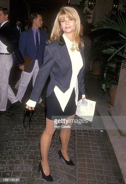 Actress Markie Post attends the Women in Film's 46th Annual Primetime Emmy Awards Nominees Luncheon on September 10 1994 at Bel Age Hotel in West...