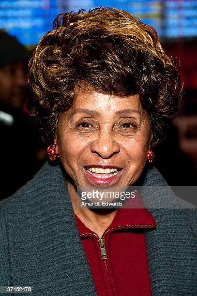 Actress Marla Gibbs attends the 'Red Tails' VIP opening night screening at Rave Baldwin Hills 15 Theatres on January 20 2012 in Los Angeles California