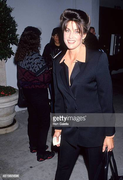 Actress Marla Heasley attends Premiere Productions International Celebrates MultiPicture Deal with Mark DiSalle on March 3 1993 at Tatou 233 North...