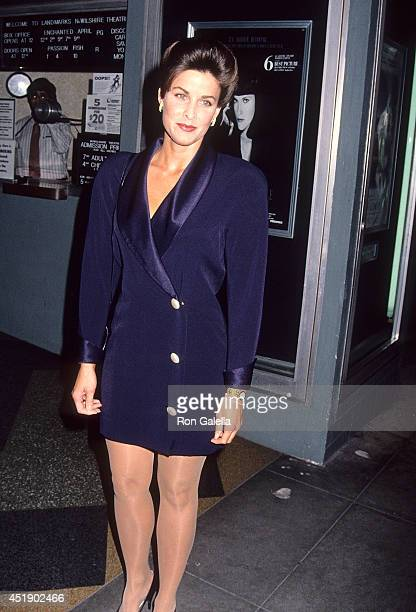 Actress Marla Heasley attends The Last Paesan Santa Monica Premiere on February 28 1993 at the NuWilshire Theatre in Santa Monica California