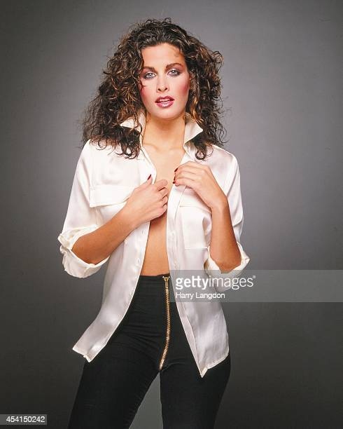 Actress Marla Heasley poses for a portrait in 1983 in Los Angeles, California.