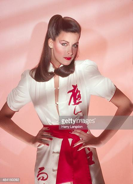 Actress Marla Heasley poses for a portrait in 1983 in Los Angeles California