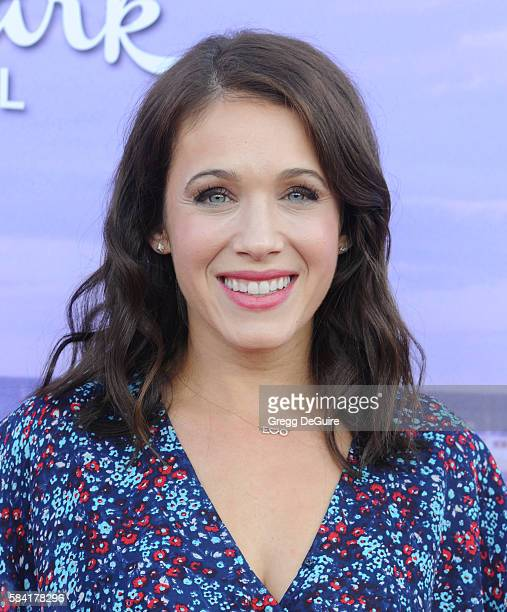 Actress Marla Sokoloff arrives at the Hallmark Channel and Hallmark Movies and Mysteries Summer 2016 TCA Press Tour Event on July 27 2016 in Beverly...
