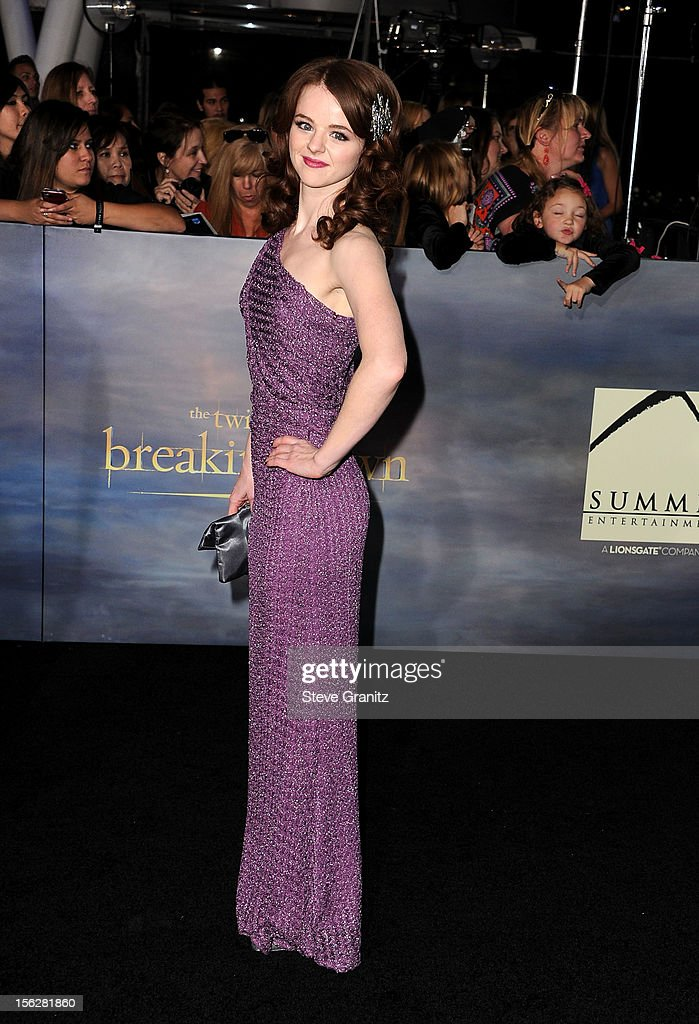 Actress Marlane Barnes arrives at 'The Twilight Saga: Breaking Dawn - Part 2' Los Angeles premiere at Nokia Theatre L.A. Live on November 12, 2012 in Los Angeles, California.