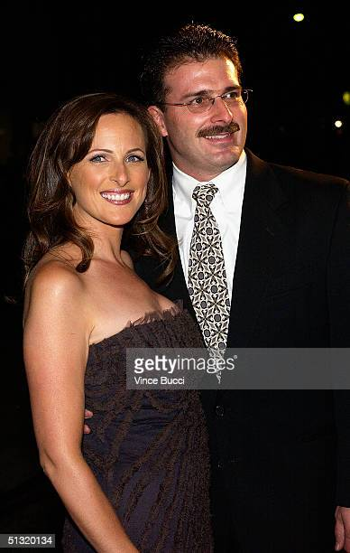 Actress Marlee Matlin and husband Kevin Grandalski attend The Academy of Television Arts and Sciences Emmy Nominees For Outstanding Performing Talent...
