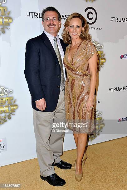 Actress Marlee Matlin and husband Kevin Grandalski attend the COMEDY CENTRAL Roast of Donald Trump at the Hammerstein Ballroom on March 9 2011 in New...