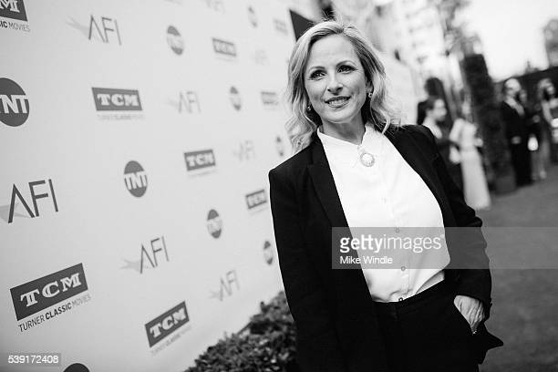 Actress Marlee Matlin arrives at American Film Institute's 44th Life Achievement Award Gala Tribute to John Williams at Dolby Theatre on June 9 2016...