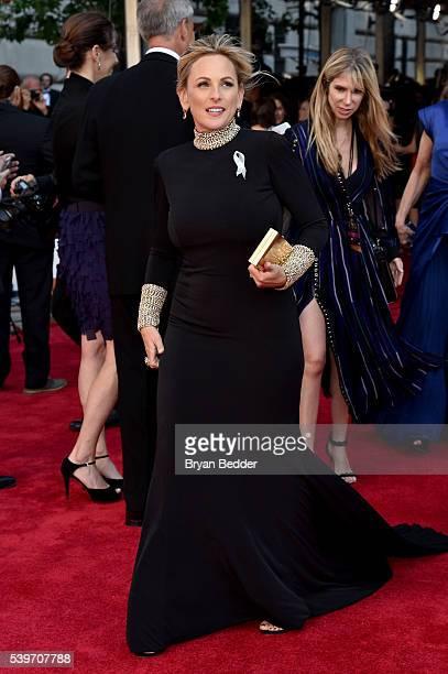Actress Marlee Matlin arrives at FIJI Water at 2016 Tony Awards at The Beacon Theatre on June 12 2016 in New York City