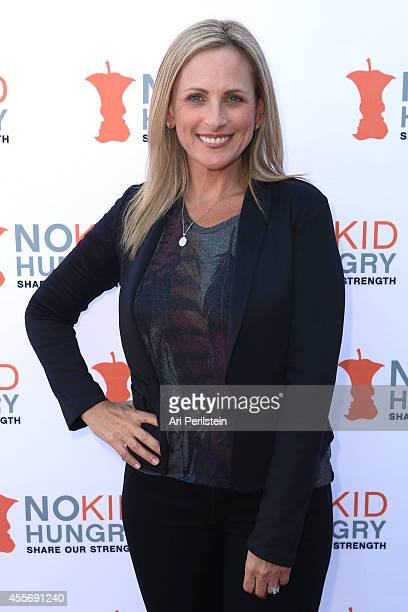 Actress Marlee Matlin arrives at La Brea Bakery And Celebrities Support No Kid Hungry at La Brea Bakery Cafe on September 18 2014 in Los Angeles...