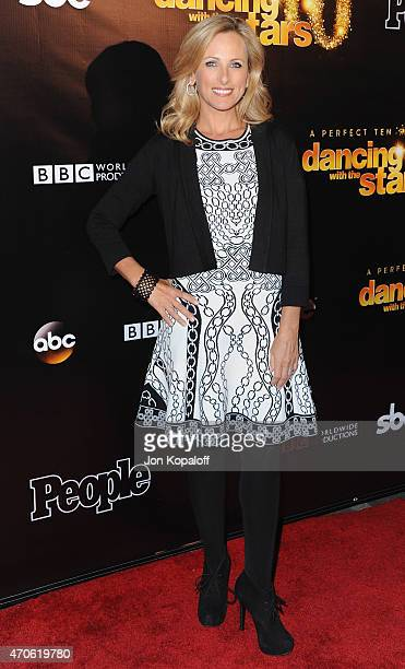 Actress Marlee Matlin arrives at the 10th Anniversary Of Dancing With The Stars Party at Greystone Manor on April 21 2015 in West Hollywood California