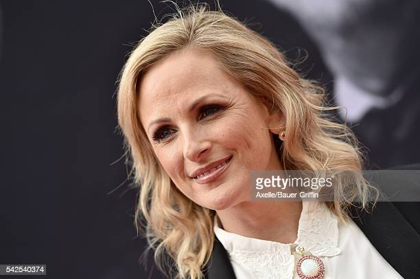 Actress Marlee Matlin arrives at the 44th AFI Life Achievement Awards Gala Tribute to John Williams at Dolby Theatre on June 9 2016 in Hollywood...