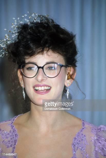 Actress Marlee Matlin at Academy Awards March 30 1987 in Los Angeles California