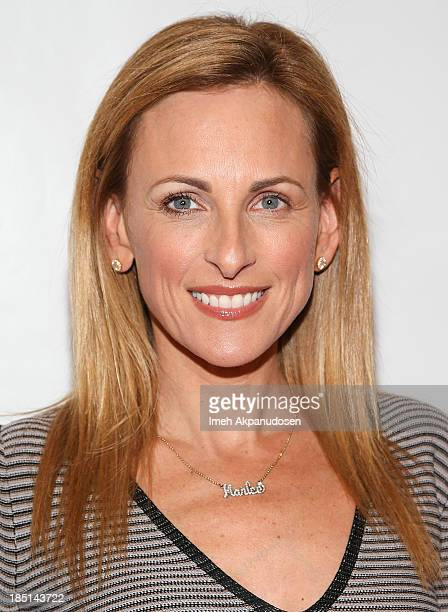 Actress Marlee Matlin attends the 2013 Media Access Awards at The Beverly Hilton Hotel on October 17 2013 in Beverly Hills California