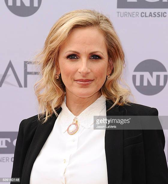 Actress Marlee Matlin attends the 44th AFI Life Achievement Awards gala tribute at Dolby Theatre on June 9 2016 in Hollywood California