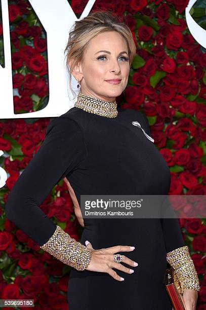 Actress Marlee Matlin attends the 70th Annual Tony Awards at The Beacon Theatre on June 12 2016 in New York City