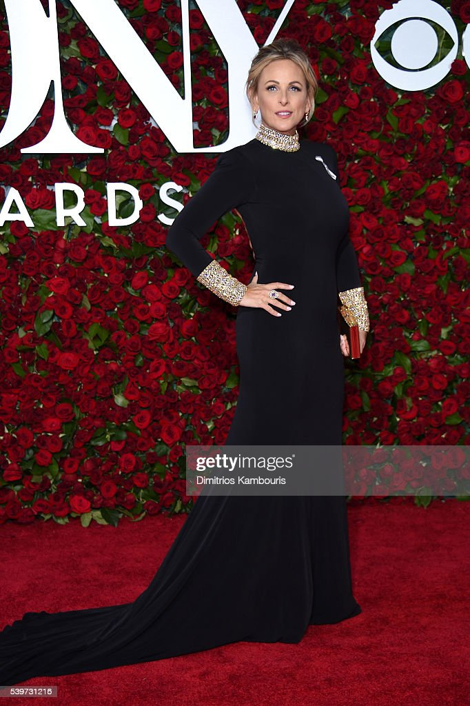 Actress Marlee Matlin attends the 70th Annual Tony Awards at The Beacon Theatre on June 12, 2016 in New York City.
