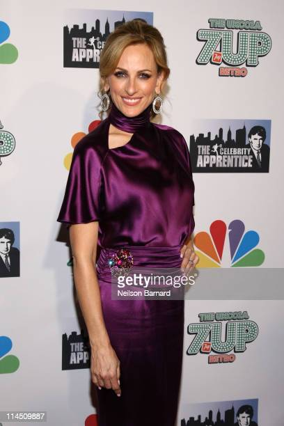 Actress Marlee Matlin attends The Celebrity Apprentice Season 4 Finale at Trump SoHo on May 22 2011 in New York City