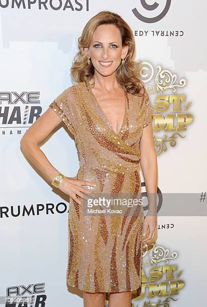Actress Marlee Matlin attends the Comedy Central Roast Of Donald Trump at the Hammerstein Ballroom on March 9 2011 in New York City