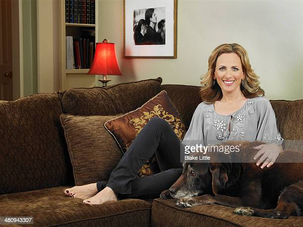Actress Marlee Matlin is photographed for People Magazine on March 16 2008 in Pasadena California
