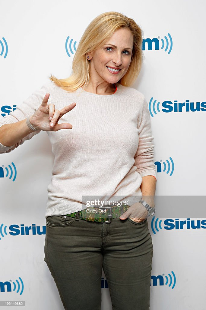 Celebrities Visit SiriusXM Studios - November 9, 2015 : News Photo