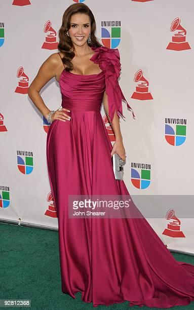 Actress Marlene Favela attends the 10th Annual Latin GRAMMY Awards held at the Mandalay Bay Events Center on November 5 2009 in Las Vegas Nevada