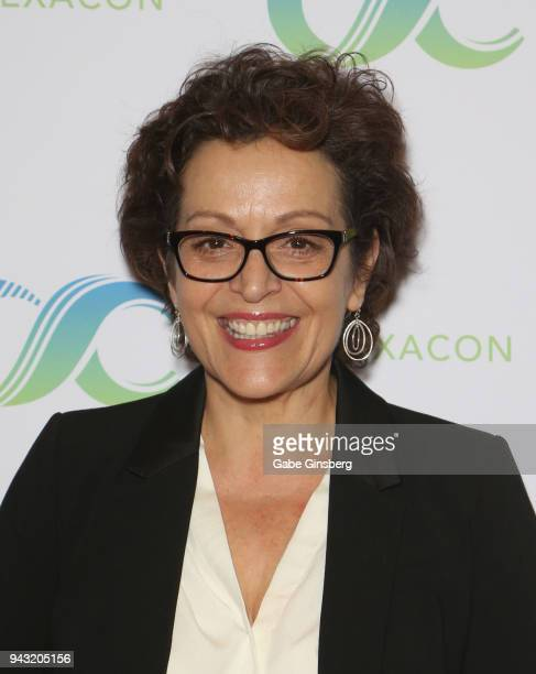 Actress Marlene Forte attends the Cocktails for Change fundraiser hosted by ClexaCon to benefit Cyndi Lauper's True Colors Fund at the Tropicana Las...